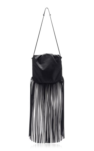 The Fringe Pouch Leather Bag