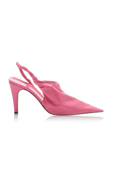 The Point Leather Pumps