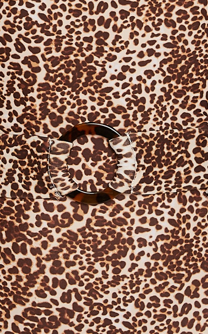 Amalfi Leopard Print One-Piece Swimsuit