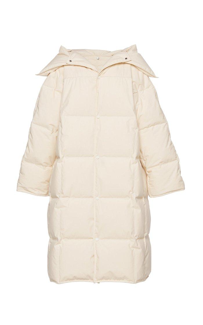 Oversized Cotton Puffer Coat