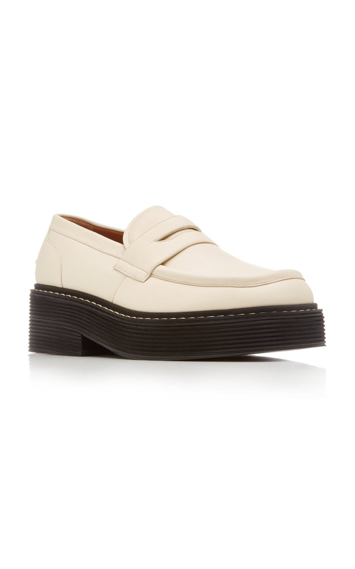 Chunky Leather Loafers