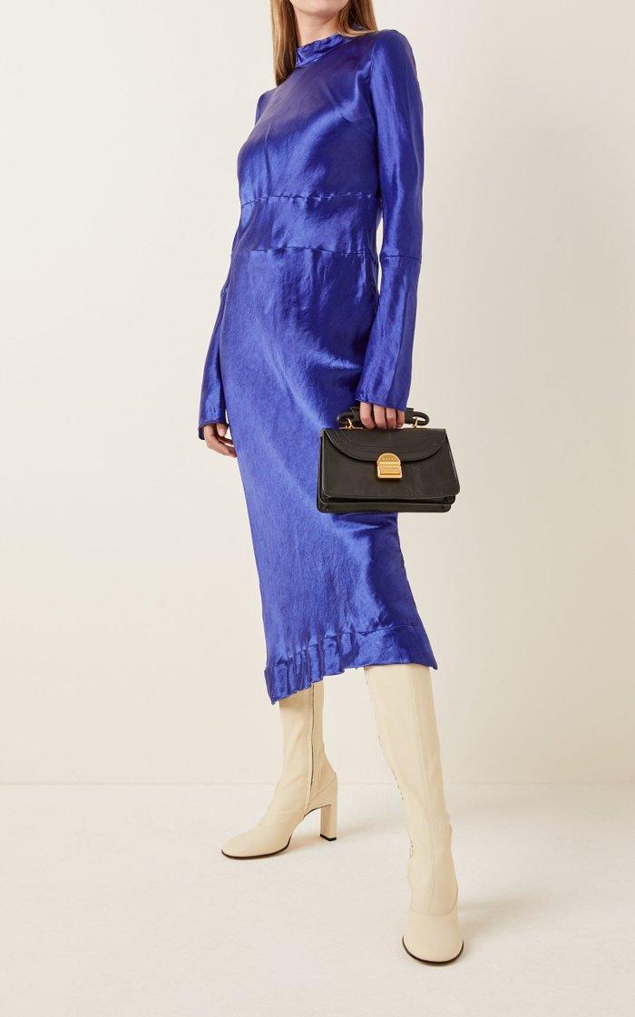 Juliette Small Suede Top Handle Bag