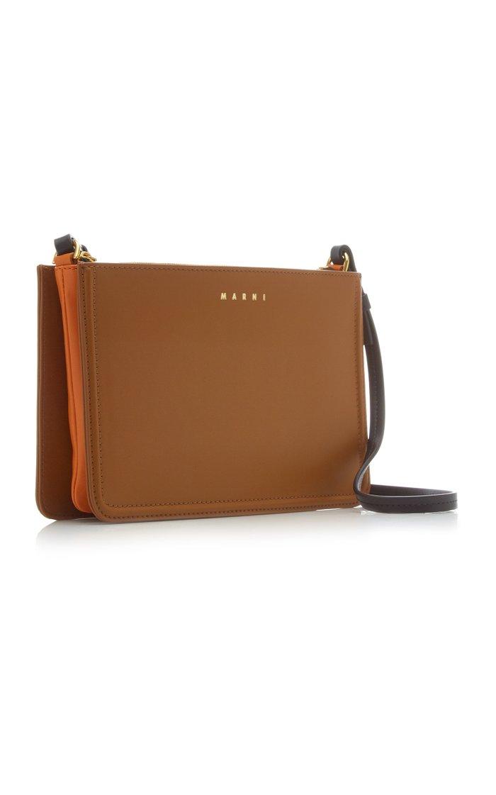 New Beat Leather Crossbody Bag