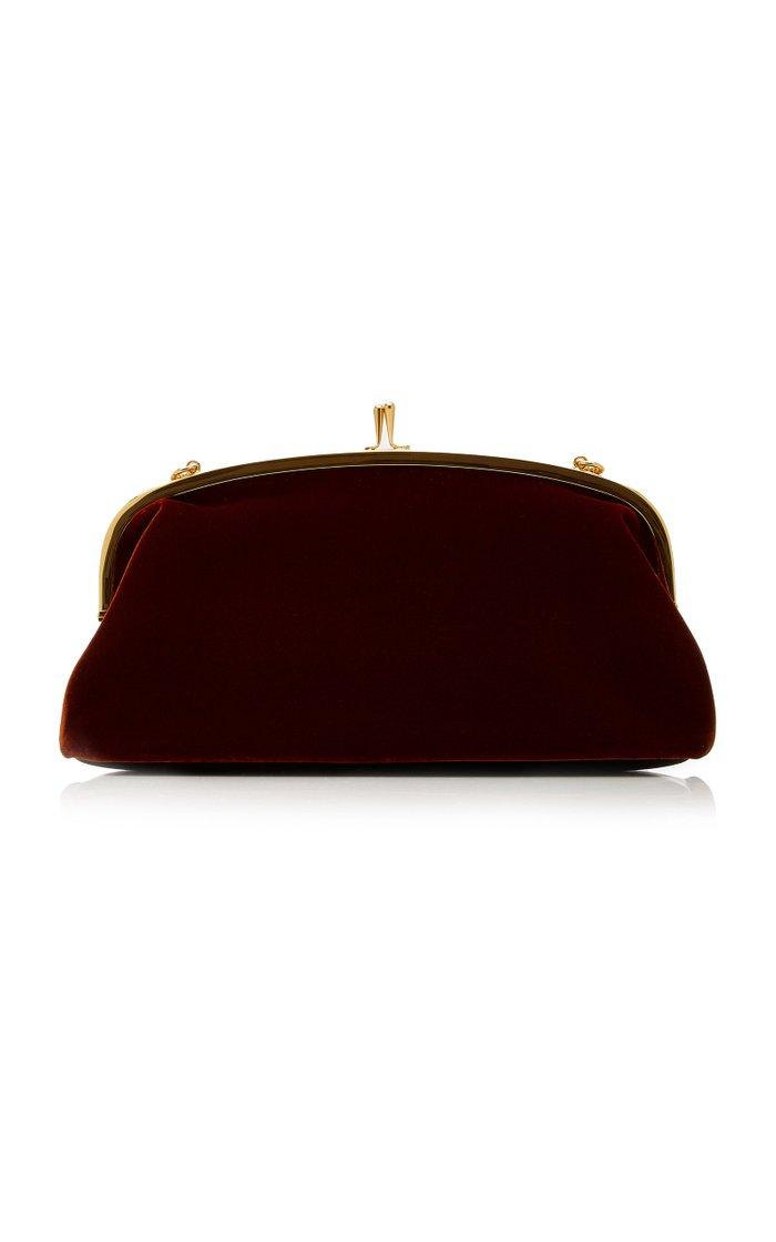 Cindy Velvet Crossbody Bag