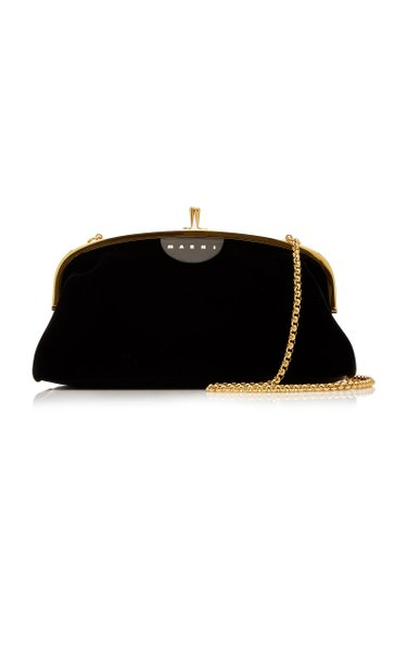 Cindy Velvet Crossbody Bag