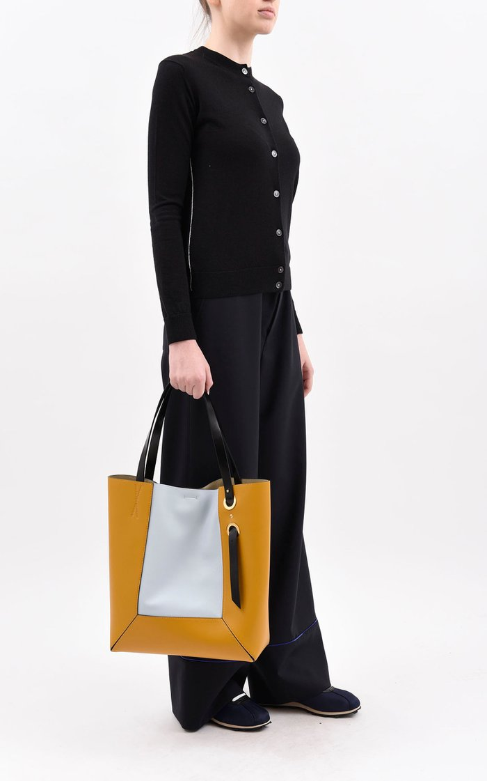 Nemo Leather Shopping Tote