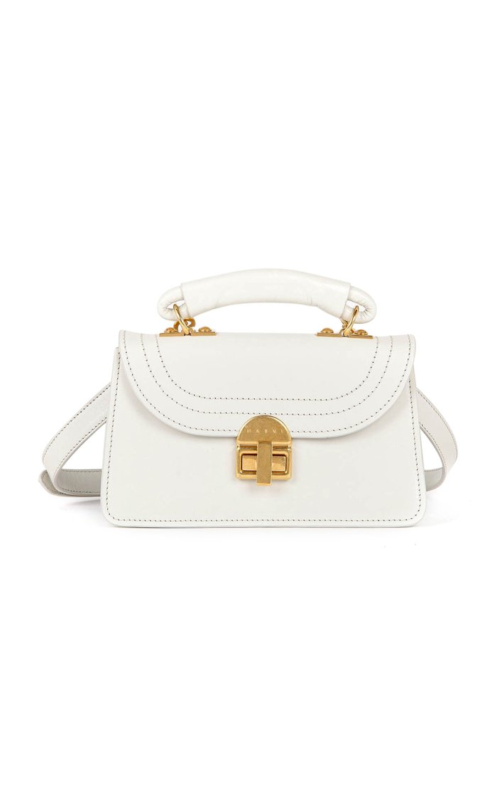 Juliette Small Leather Top Handle Bag