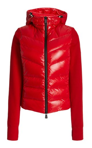 Fleece and Down-Filled Shell Hooded Jacket