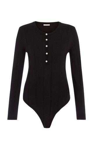 Ribbed Cotton Bodysuit