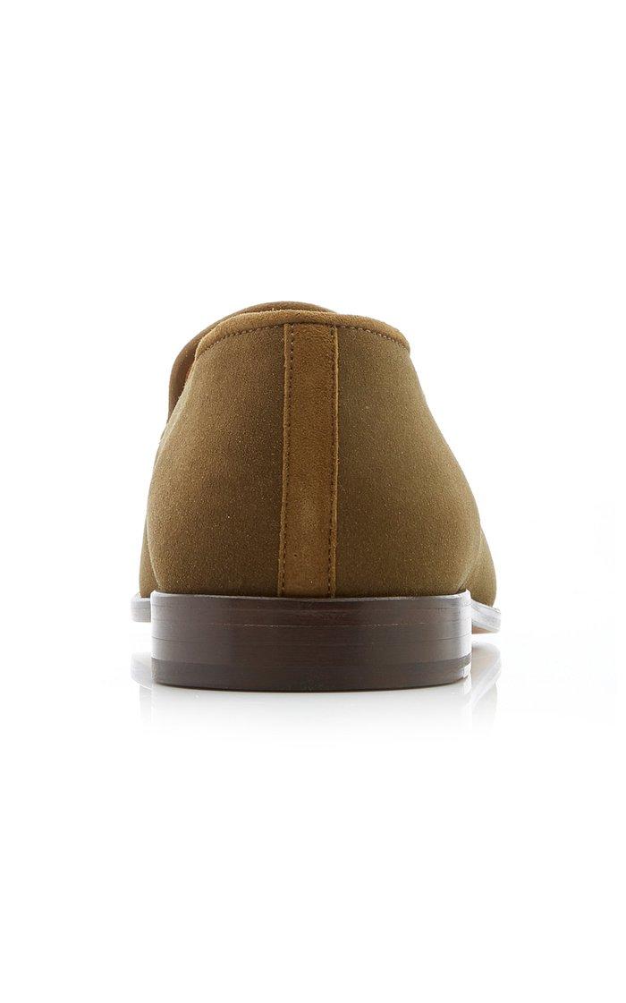 Venetian Split Luggage Loafers