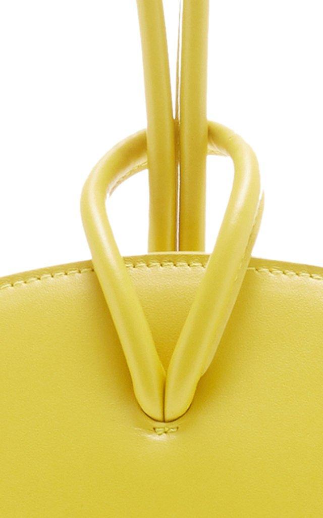 Loop Leather Wristlet Clutch