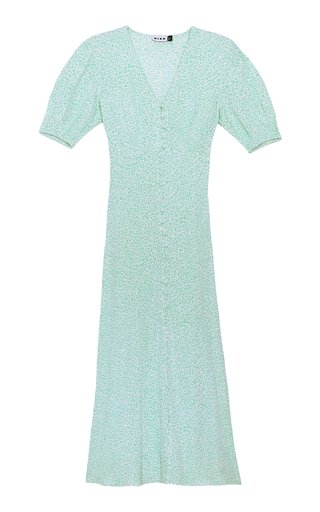 Staci Printed Silk Maxi Dress