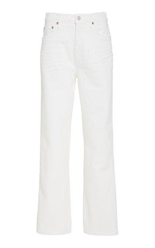Pinch Waist Stretch High-Rise Kick Jeans