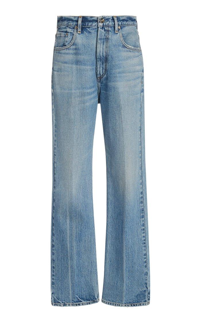 The Martin Rigid High-Rise Straight-Leg Jeans