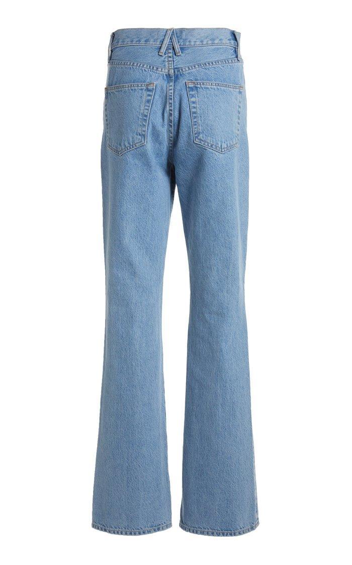 Charlotte Rigid High-Rise Flared-Leg Jeans
