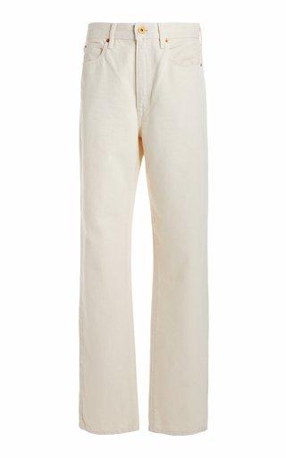 London Rigid High-Rise Straight-Leg Jeans