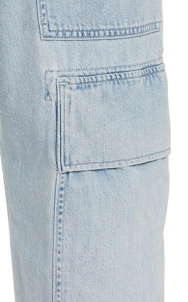 Kierra Rigid High-Rise Straight-Leg Pants