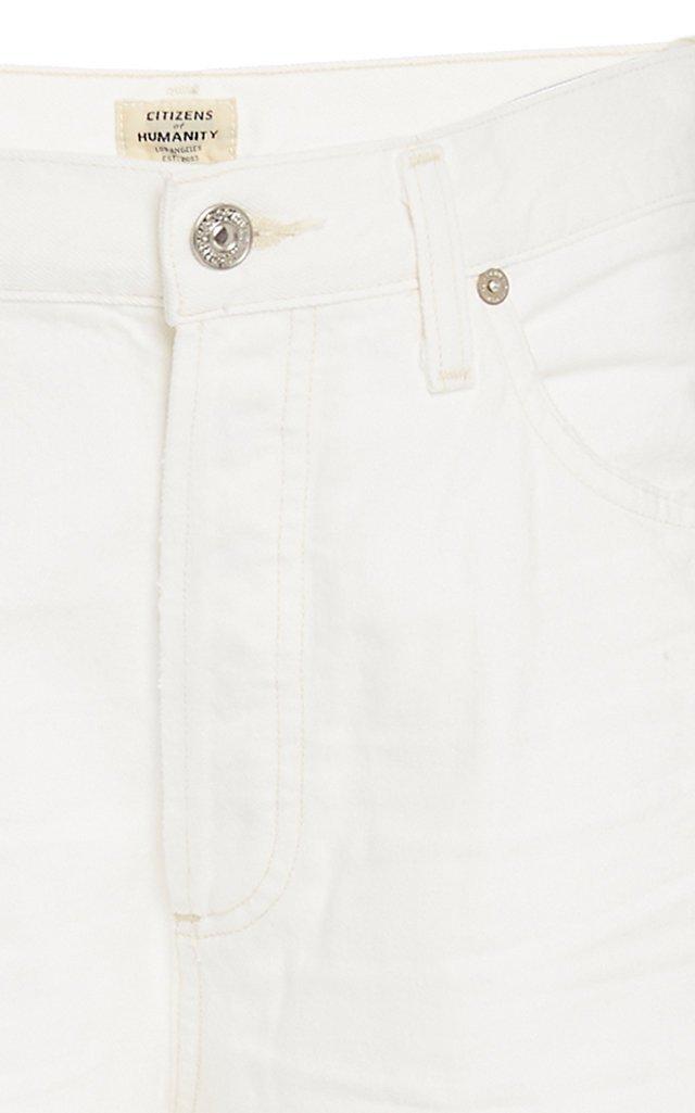 Annina Rigid High-Rise Wide-Leg Jeans
