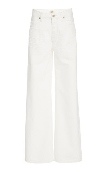 Annina Rigid High-Rise Wide-Leg Jeans