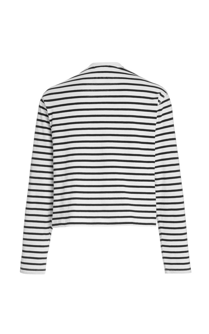 Classic Striped Cotton-Jersey T-Shirt