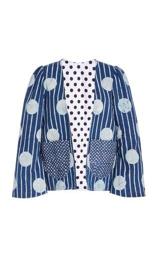 Momo Striped Cotton Jacket