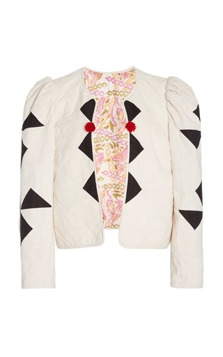 Pierrot Quilted Cotton Jacket