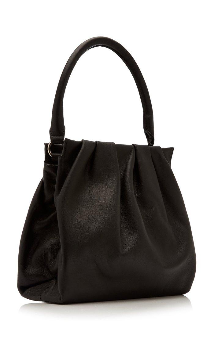 Plis Leather Frame Bag