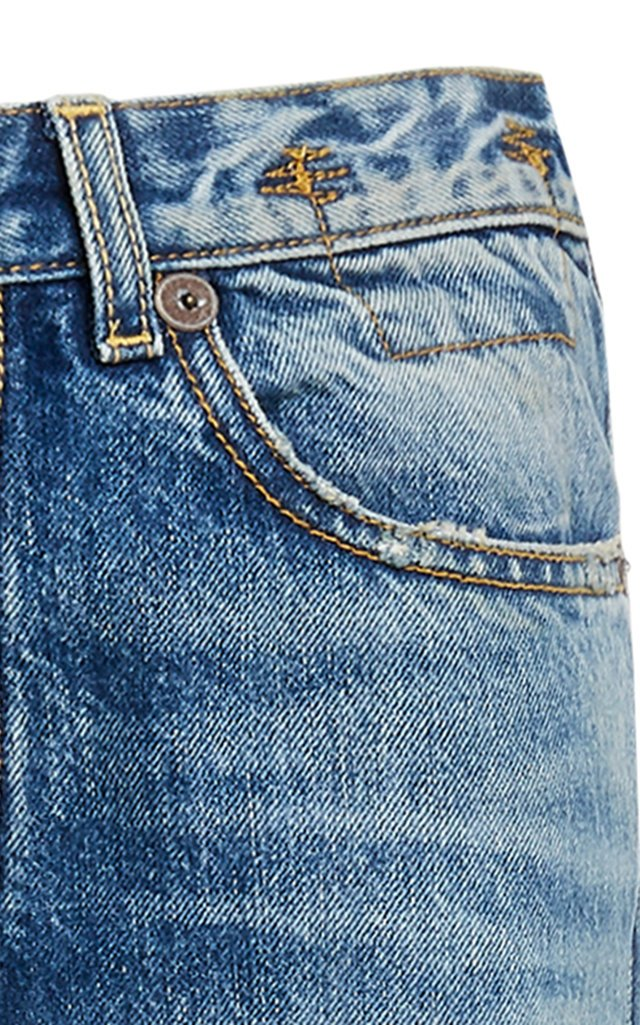 Axl Rigid Mid-Rise Slim-Leg Jeans