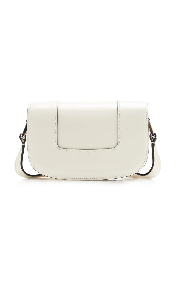 Valentino Garavani Supervee Small Patent Leather Shoulder Bag