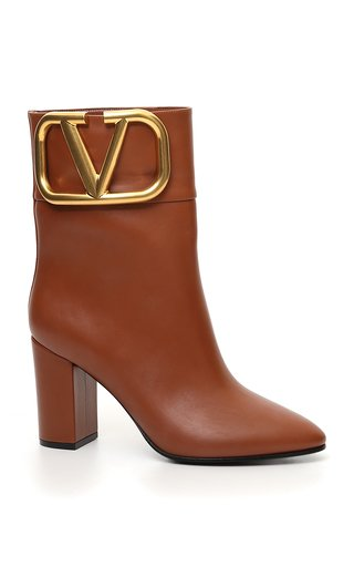 Valentino Garavani Supervee Leather Ankle Boots