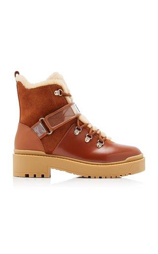 Valentino Garavani Trekkgirl Sherling Boots