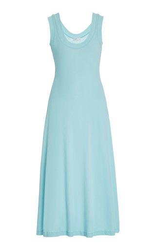 Cotton-Jersey Midi Dress