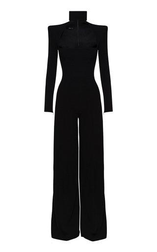 Morgan Cutout-Detailed Crepe Jumpsuit