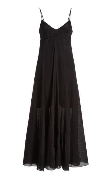 Carlota Linen Maxi Dress