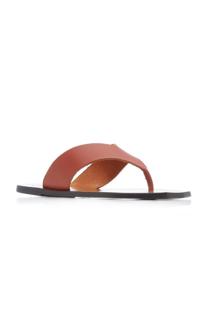 Merine Leather Sandals