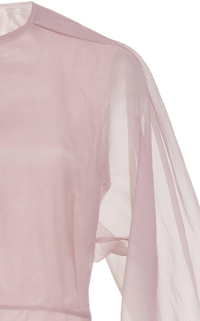 Beha Organza Midi Dress