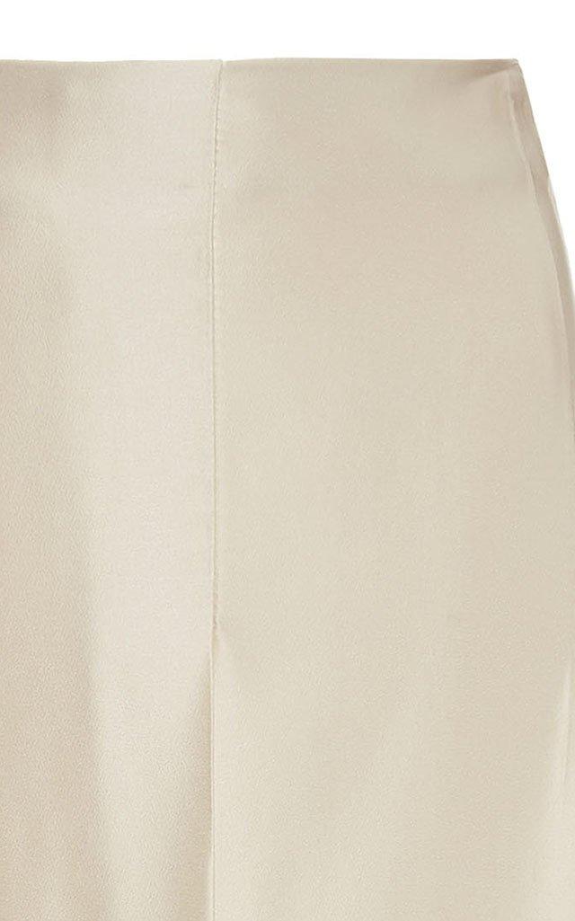 Ricci Satin Midi Skirt