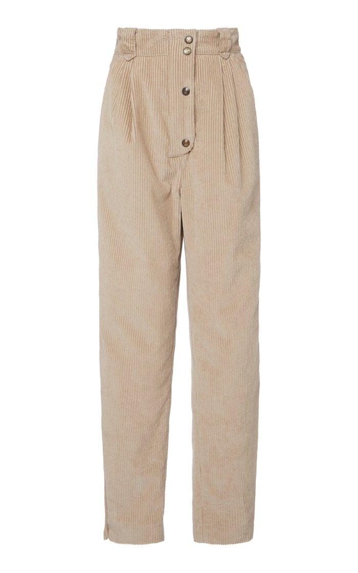 Tapered Corduroy Pants