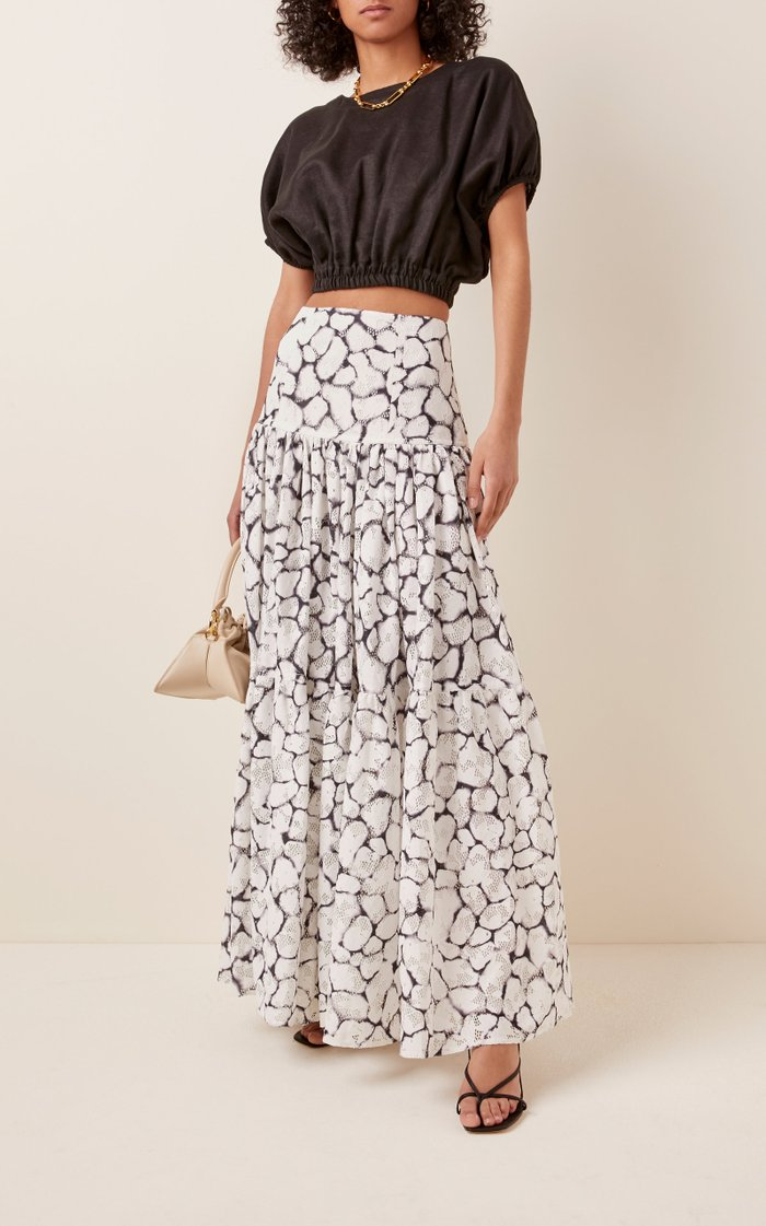 Rebellion Lace Midi Skirt