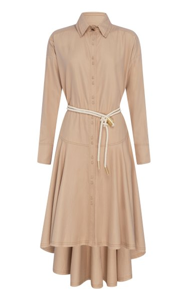 Liberation Herringbone Shirt Dress