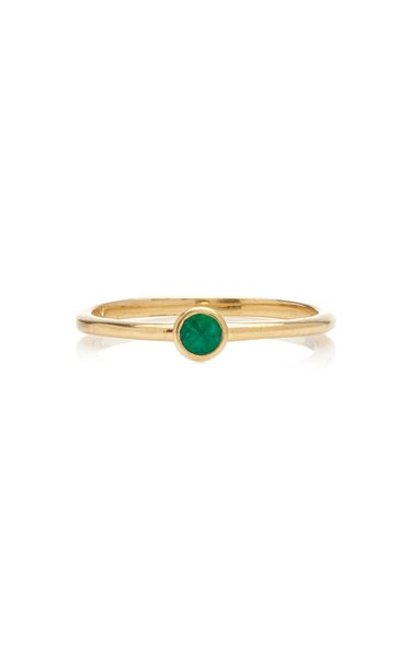 Emerald Stack Ring