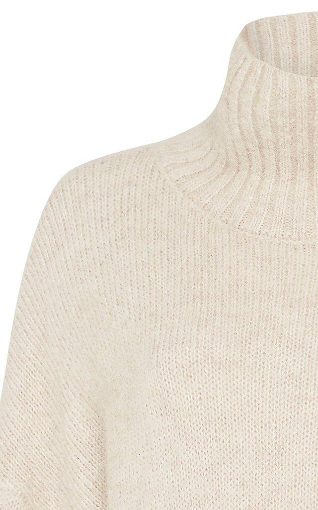 Gael Oversized Alpaca-Blend Turtleneck Sweater