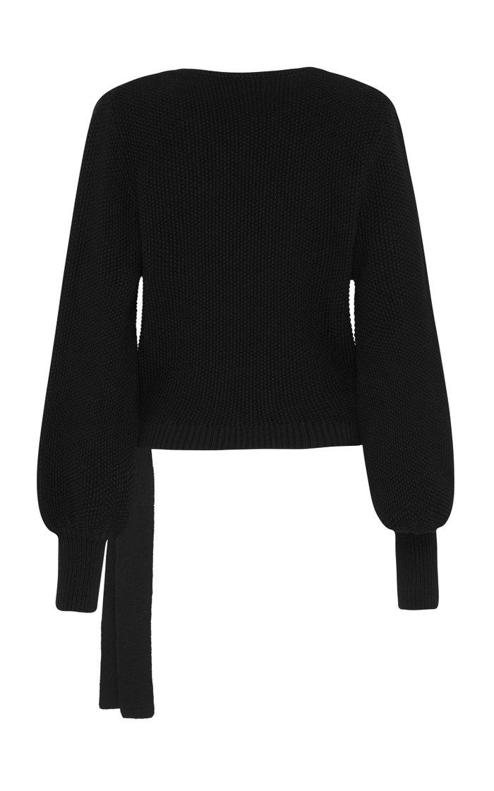 Ruri Knit Wrap Sweater