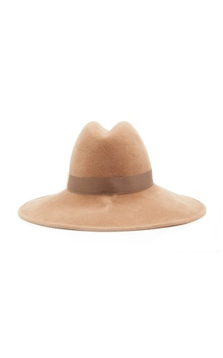 Requiem Felt Wide-Brim Hat