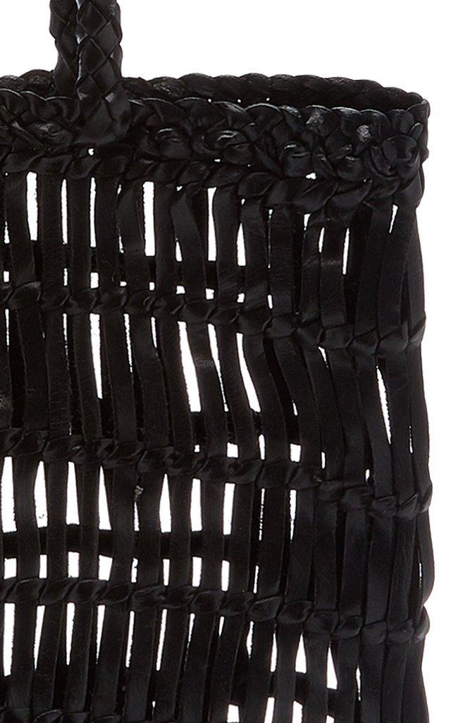 Rada Woven Leather Tote