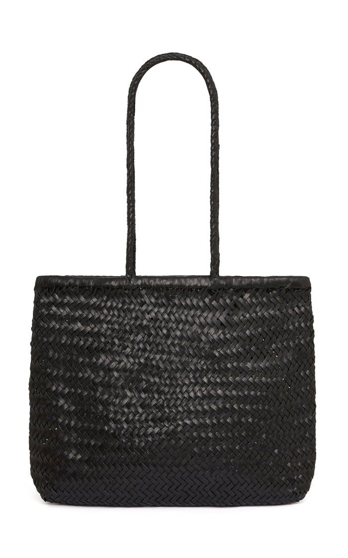 Bagu Woven Leather Tote
