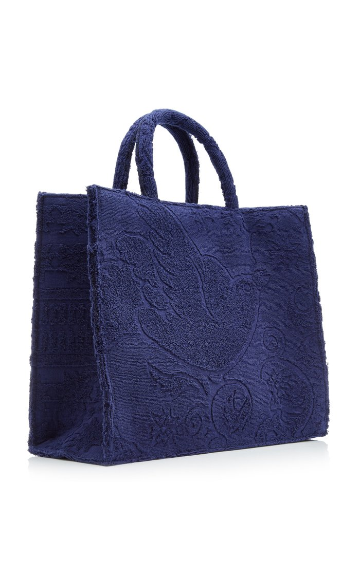 The Sunbaker Cotton Toweling Tote