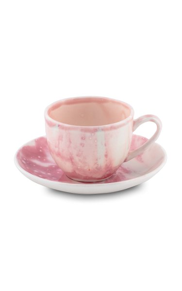 Berry Coffe Cup & Saucer