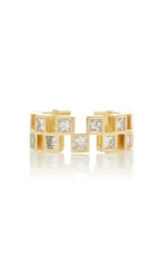 18K Yellow Gold Anerise Ear Cuff