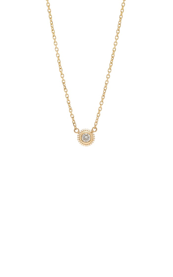 Daric 14K Gold And Diamond Necklace